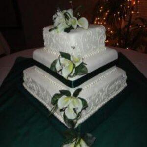 12-10-8 Square Cake Stand Set