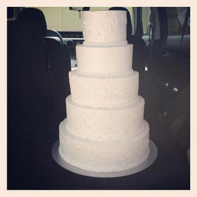14 10 6 inch wedding cake 5 tier cake stand 14 12 10 8 and 6 inch 10039