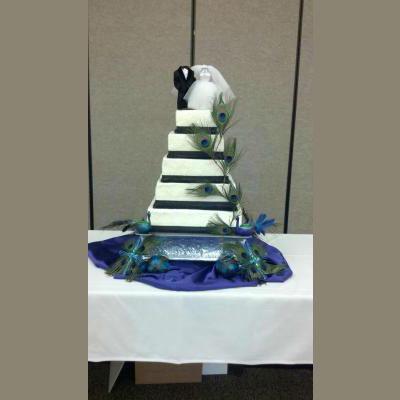 14-12-10-8-6 Square Cake Stand Set