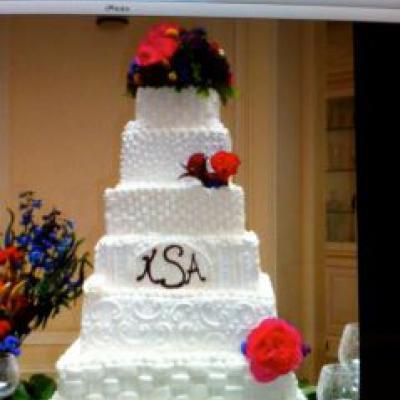 16-14-12-10-8-6 Square Cake Stand Set