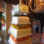 12-10-8-6 Square Cake Stand Set