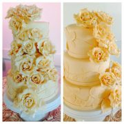 3 Tier Round Yellow