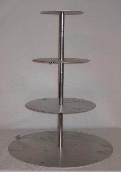4 Tier Pedestal Cake Stand