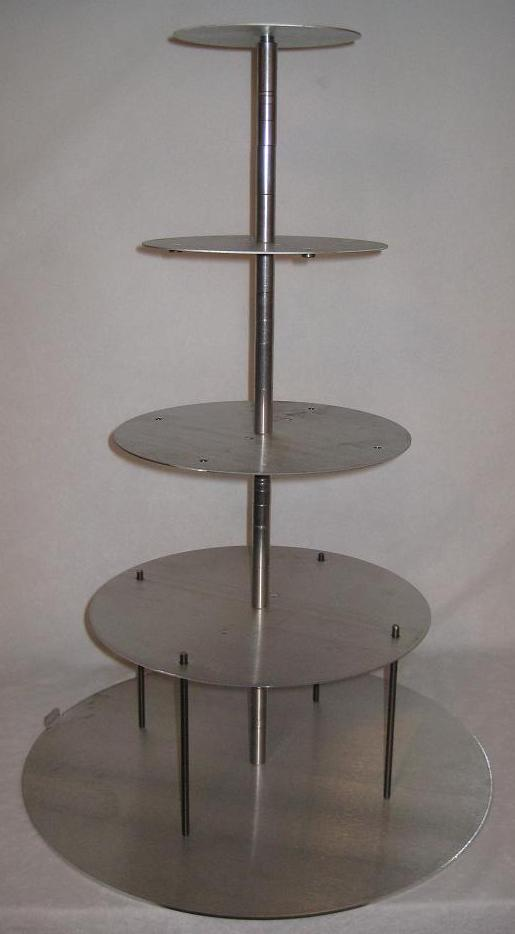 look safely the cake stackers strong all metal cake stand will hold up