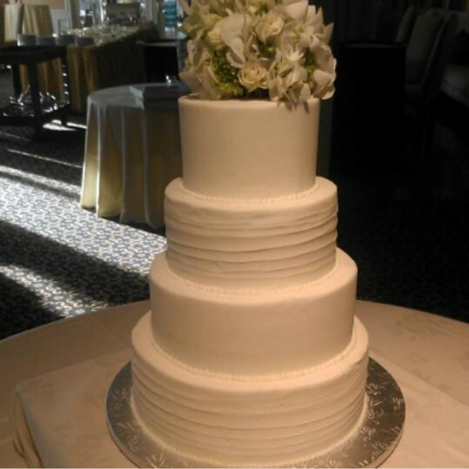sample of a 4 tier round cake stand
