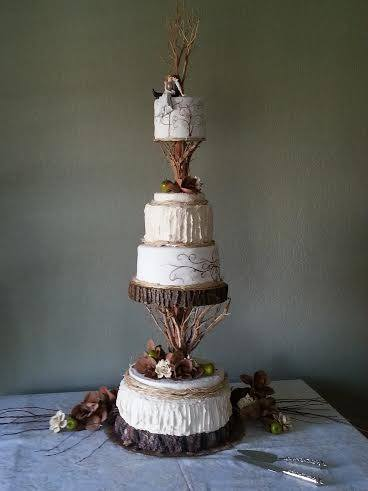 Could not have made the fabulous u0027Rustic Eleganceu0027 hand-painted cake attached if it was not for cake stackers!  -Scott & Cake Gallery | Photos of Wedding Cakes | Multi-layer Cakes ...