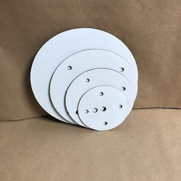 12-10-8-6 inch round disposable cake board set