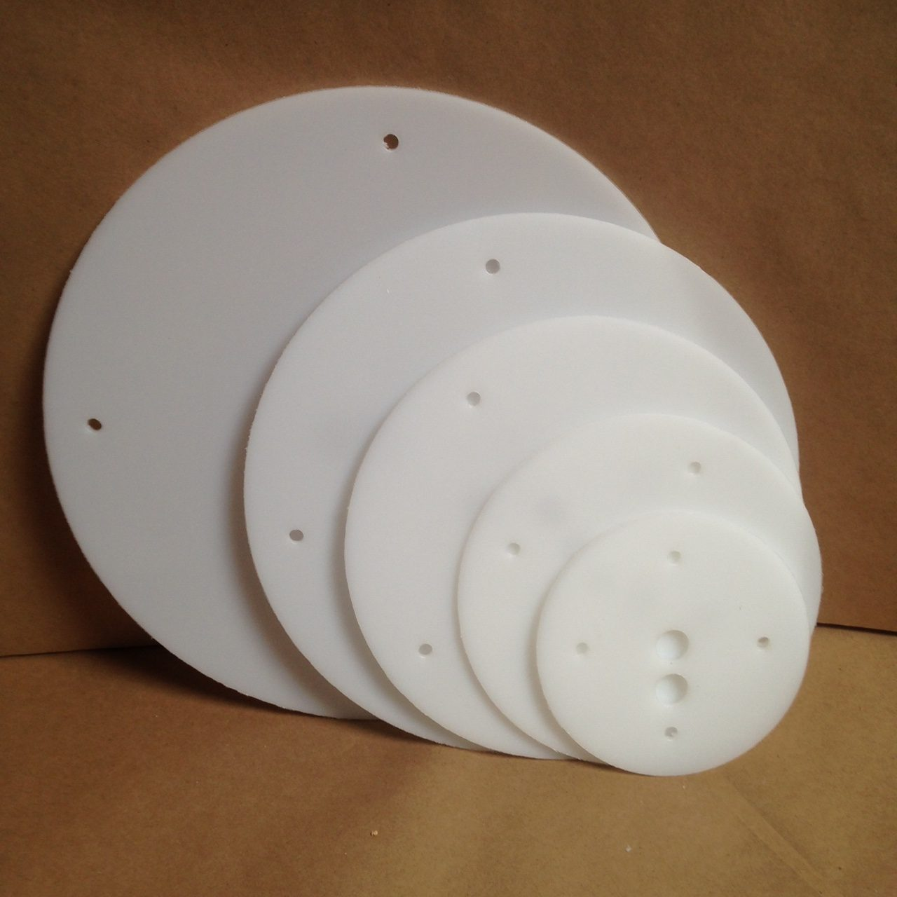 14 12 10 8 6 Inch Round Plastic Cake Board Set Hdpe