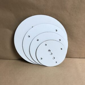 14-12-10-8 inch round disposable cake board set
