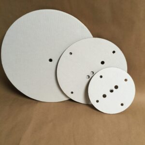 12-10-8 inch round disposable cake board set