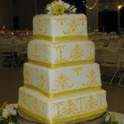 4 Tier SQ Yellow