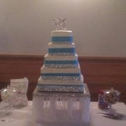 Blue 5 Tier SQ