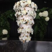 Chandelier 4 Tier Flowers