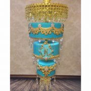 Chandelier 4 Tier Round Moroccon
