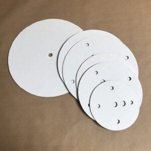 Round disposable cake boards
