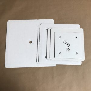 Square disposable cake boards