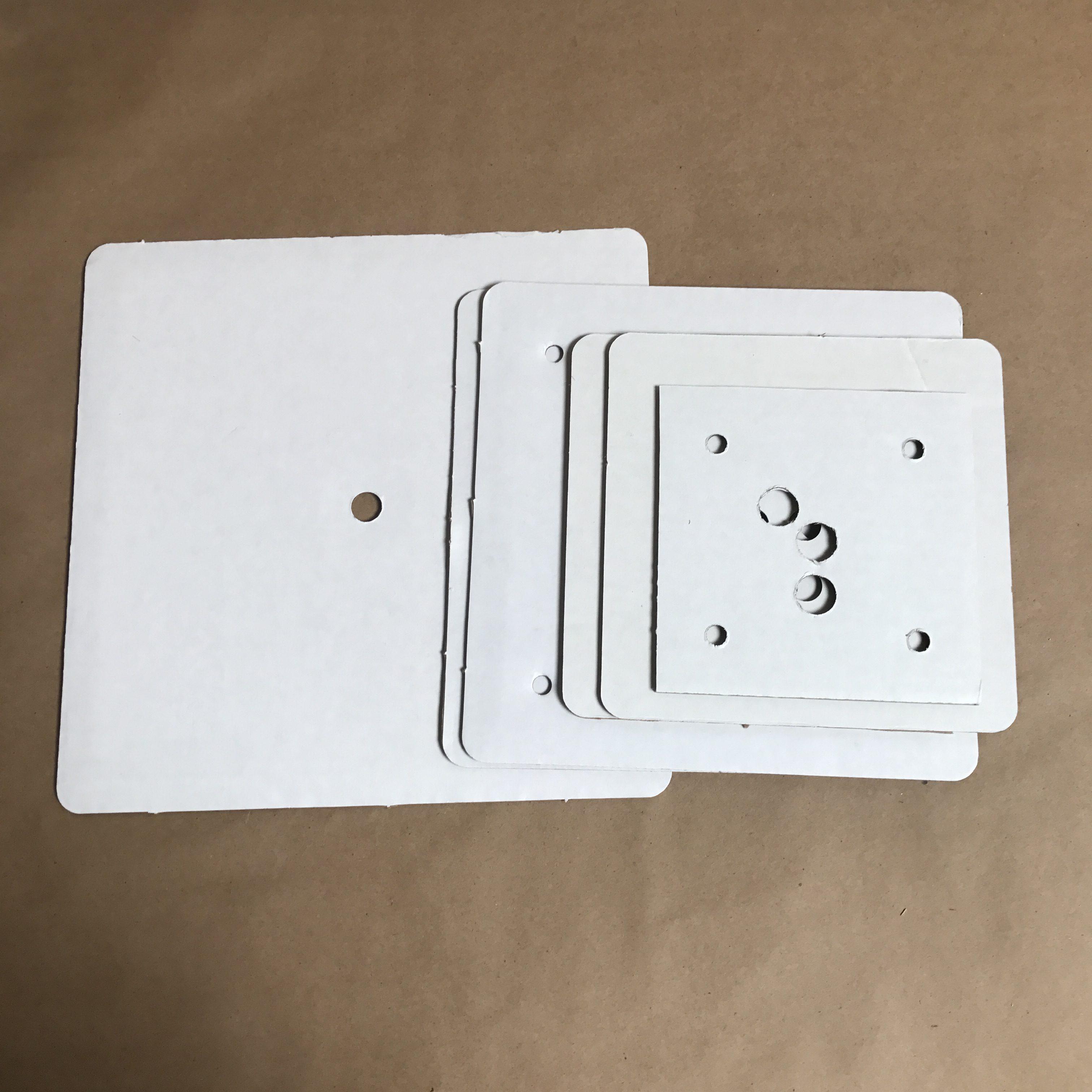 Square disposable cake boards