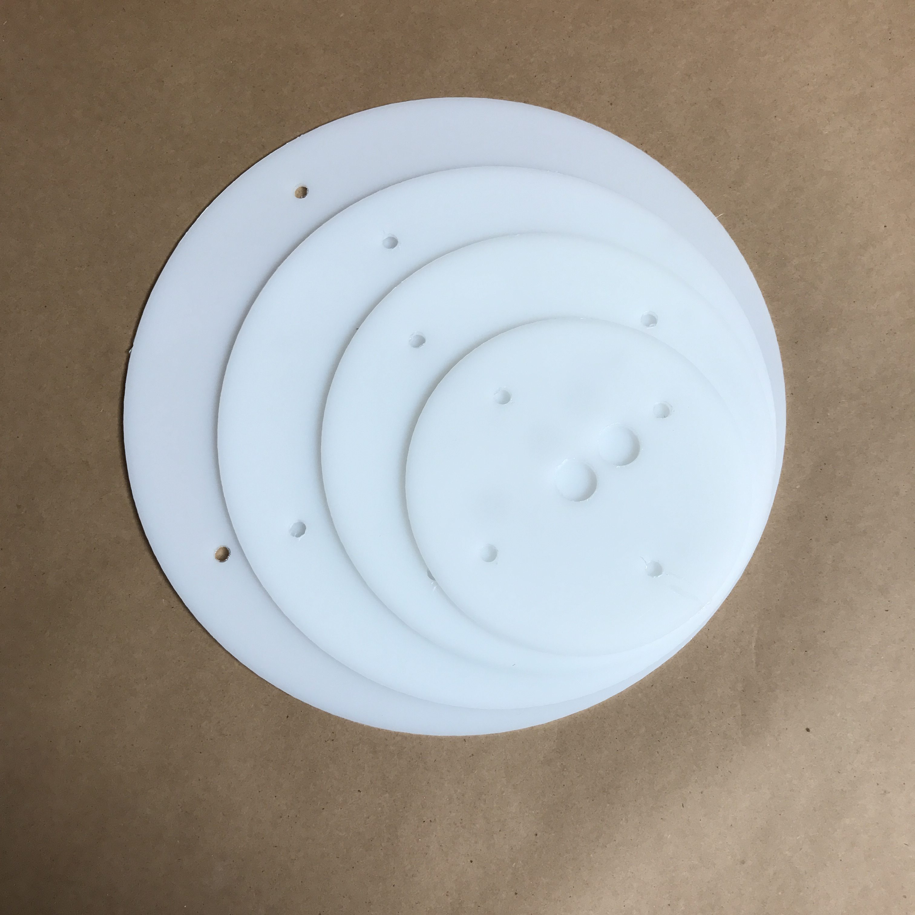 12 10 8 6 Inch Round Plastic Cake Board Set Hdpe Cake