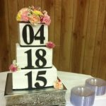 10-8-6 Square Cake Stand