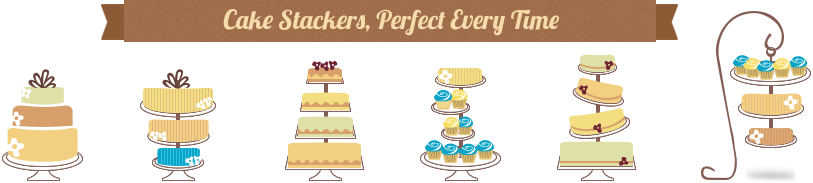 Cake Stackers - The best support system