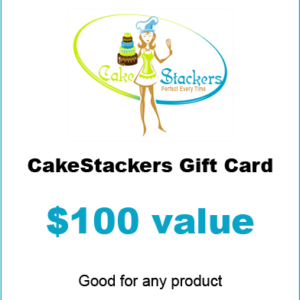 Cakestackers $100 gift certificate