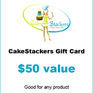 $50 Cakestackers gift certificate