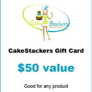 $50 Cakestackers gift certificate